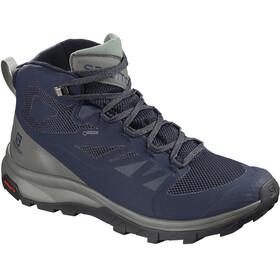 Salomon OUTline Mid GTX - Calzado Hombre - azul